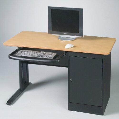Balt LX Computer Workstation with Locking CPU Holder