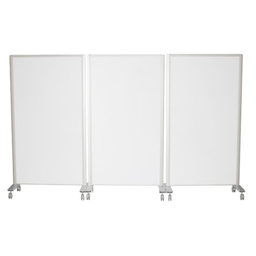 Balt Lumina Room Divider in Magnetic Steel