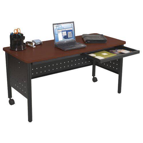 "Balt Modular Pedestal 60"" W x 30"" D Table"