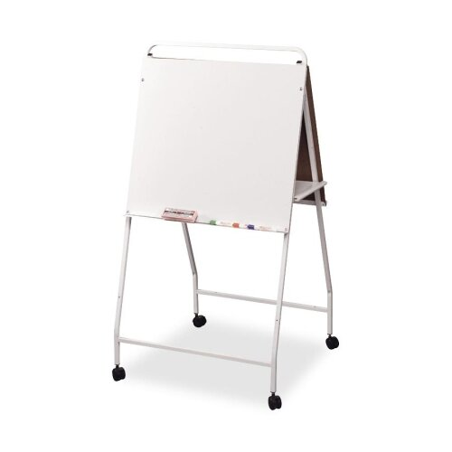 Balt Eco Easel W/ Wheels, Double-sided, Folds for Storage