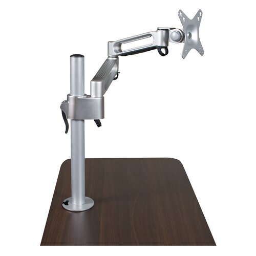 Balt Grommet Mount Height Adjustable Desktop Flat Panel