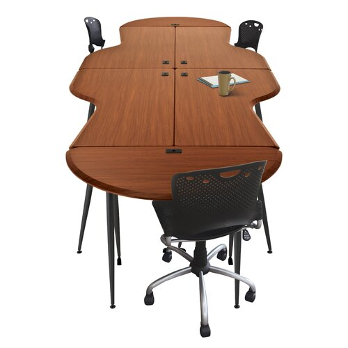 Balt iFlex Modular Small Half-Round Utility Table