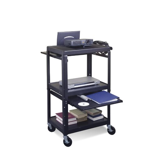 Balt Adjustable Laptop Shelf For Utility Cart