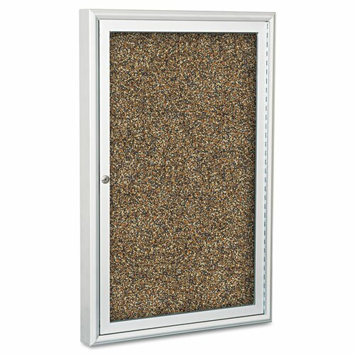 Balt Enclosed Rubber-Tak 3' x 2' Bulletin Board