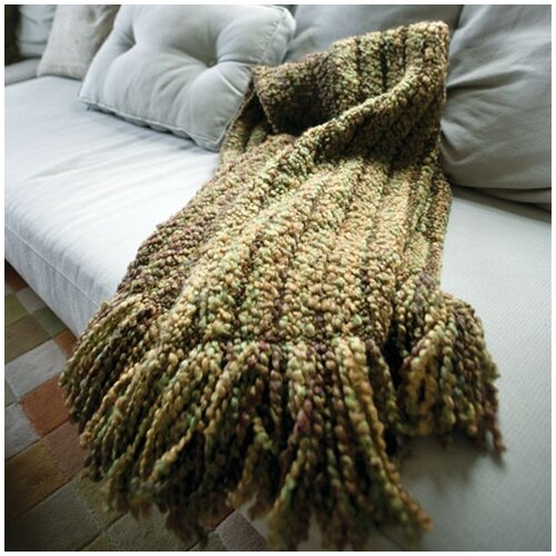 Kennebunk Home Auburn Woven Acrylic / Polyester Throw