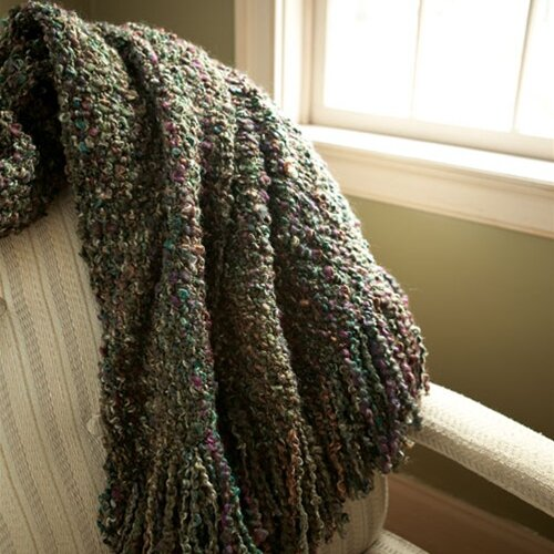 Kennebunk Home Canyon Decorative Woven Acrylic / Polyester Throw