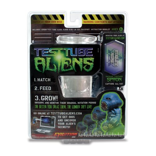 Wild Planet Test Tube Aliens Evilution Spron