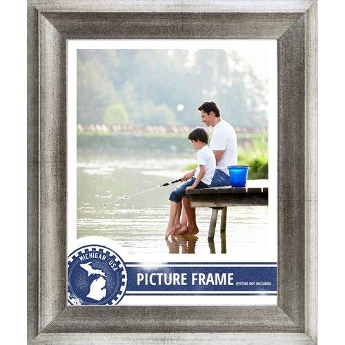 "Craig Frames Inc. 1.5"" Wide Distressed Picture Frame / Poster Frame"