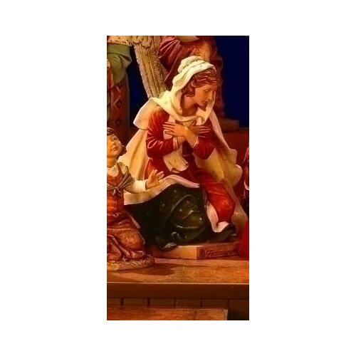Fontanini Scale Mary Nativity Figurine Christmas Decoration
