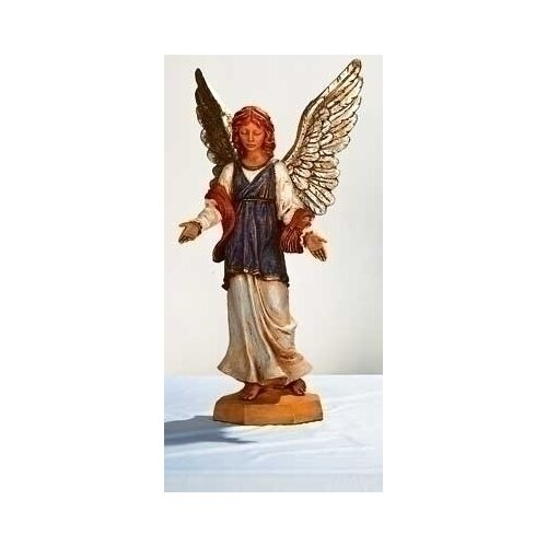 "Fontanini 27"" Scale Standing Angel Figurine"
