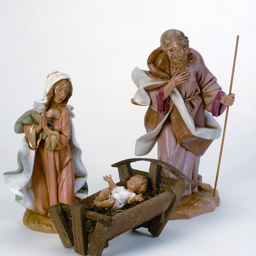 Fontanini Three Piece Holy Family Figurines Set