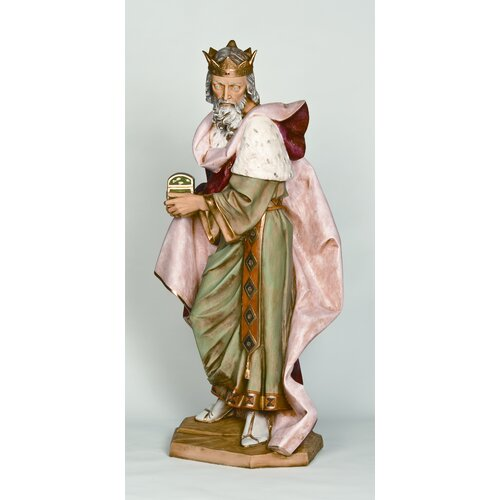 Fontanini Scale Standing King Melchior Figurine Christmas Decoration