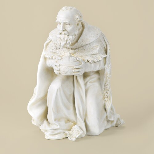 Kneeling Wise Man Figurine