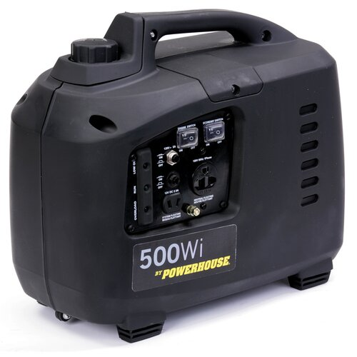 Powerhouse 500 Watt Gas Inverter Generator