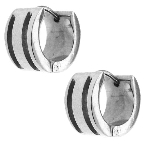 Moise Highly Polished Cuff Earrings