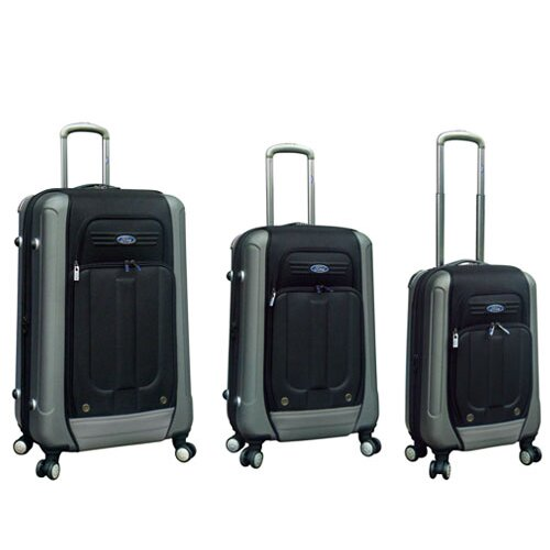 Ford Flex 2 Series 3 Piece Expandable Hybrid Luggage Set