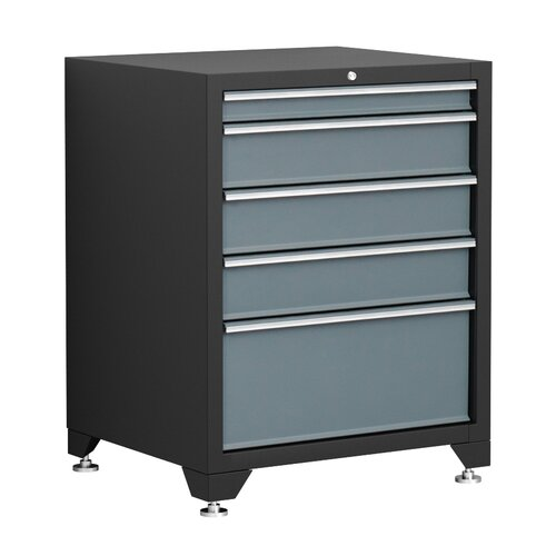 """NewAge Products Pro Series 28"""" W 5 Drawer Bottom Cabinet"""