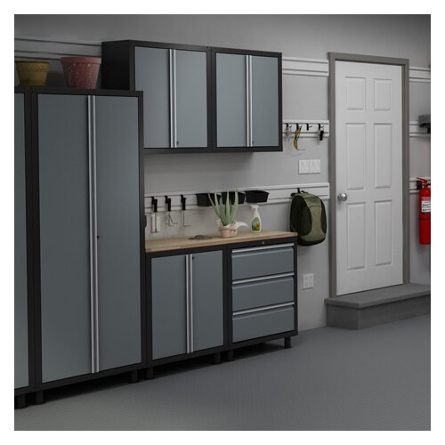 NewAge Products RTA Series 6' H x 7' W x 1.5' D 6-Piece Cabinet Set