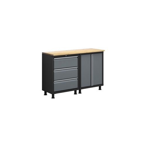 NewAge Products RTA Series 3' H x 4.5' W x 1.5' D 3-Piece Cabinet Set