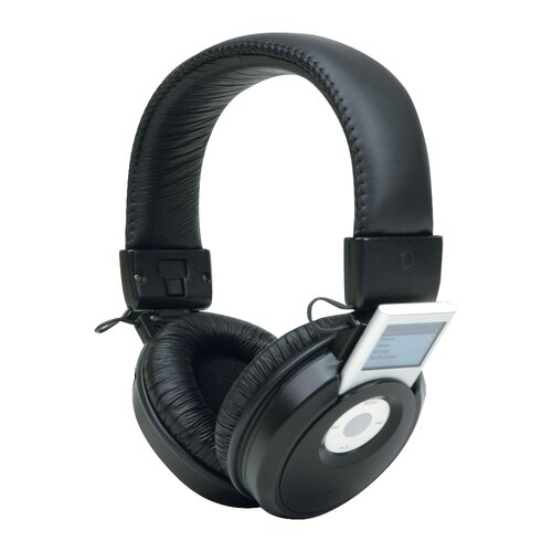 Trademark Global iPod Nano Headset Headphones Music Player