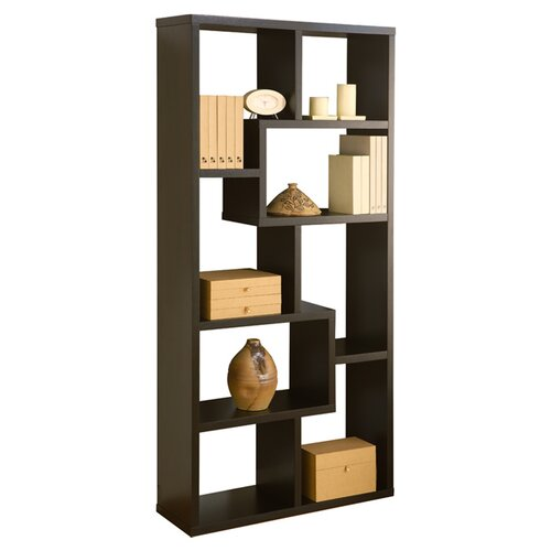 Hokku Designs Mindy 71 Unique Bookcase Reviews Wayfair