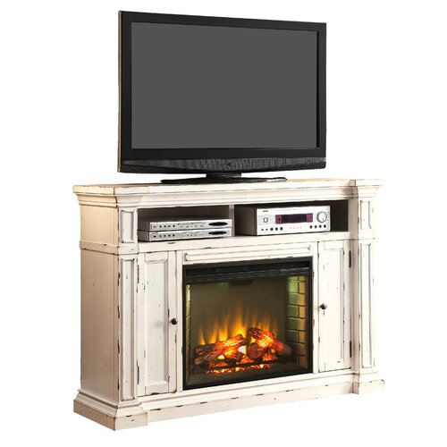 legends furniture new castle 58 quot tv stand with electric