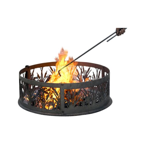 P & D Metal Works Steel Fire Poker