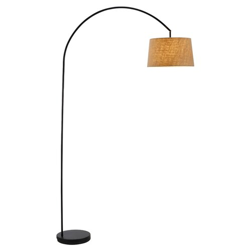 Adesso henry arched floor lamp reviews wayfair for Wayfair adesso floor lamp