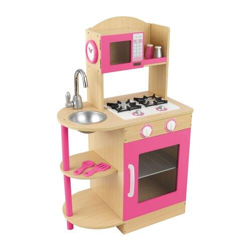 KidKraft Pink Wooden Play Kitchen