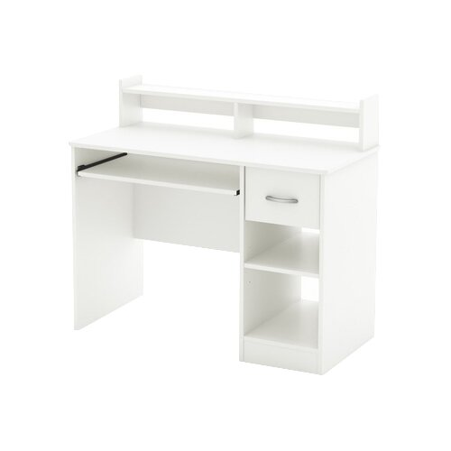 South Shore Axess Computer Desk with Keyboard Drawer