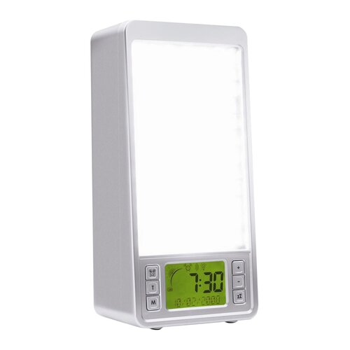 Sunrise Systems Light Box Alarm Clock