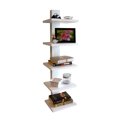 Proman Products Spine 37.75 Wall Bookcase