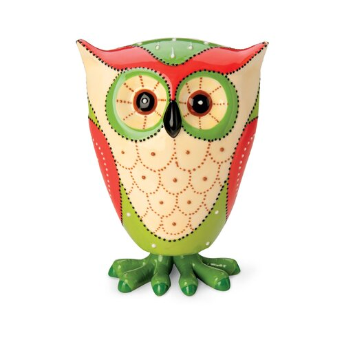 October Hill Bobble Owl Figurine