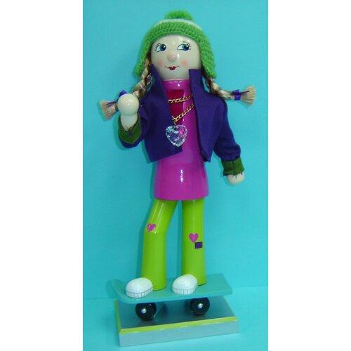 Horizons East Skateboard Girl Nutcracker