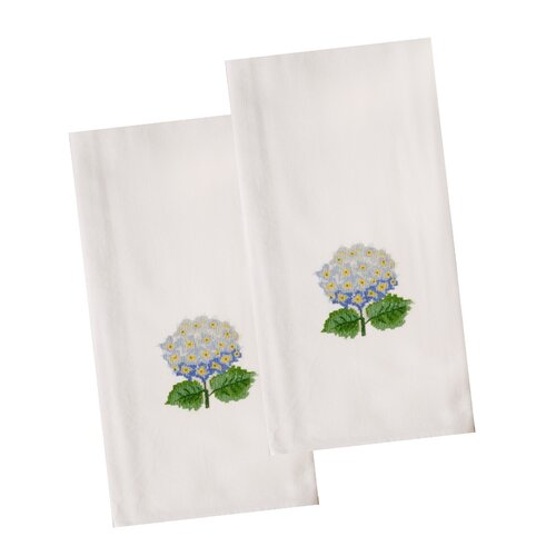 The Designs of Distinction Hydrangea Dish Towel