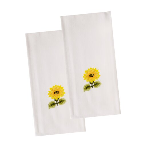 The Designs of Distinction Sunflower Dish Towel