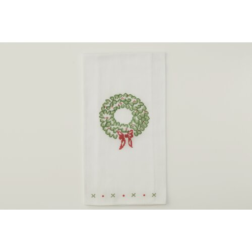 The Designs of Distinction Wreath Dish Towel