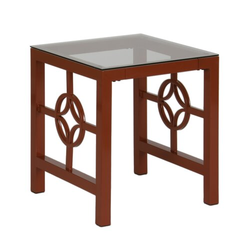 In Style Furnishings Medallion End Table