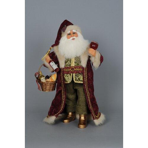 Crakewood Basket of Cheer Santa