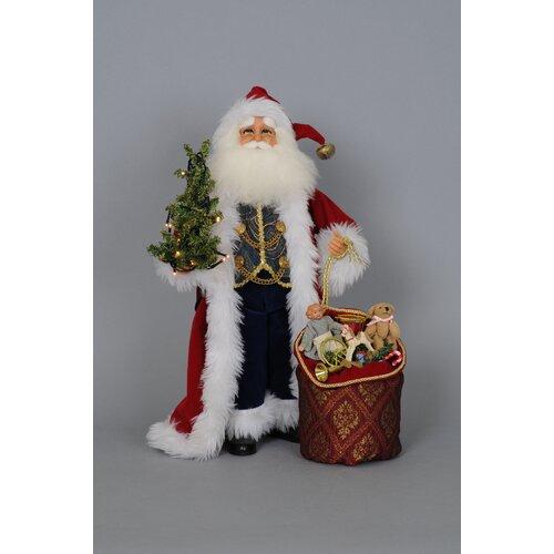 Crakewood Lighted Traditional Santa