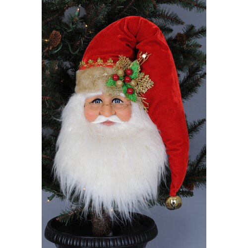 Santa Head Wall / Door Hanger