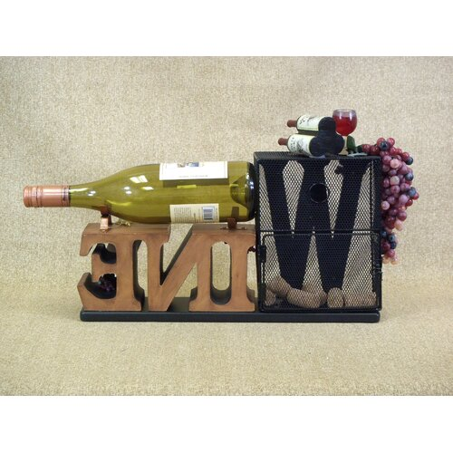Karen Didion Originals Classic Home Cork Collector Tabletop Wine Rack