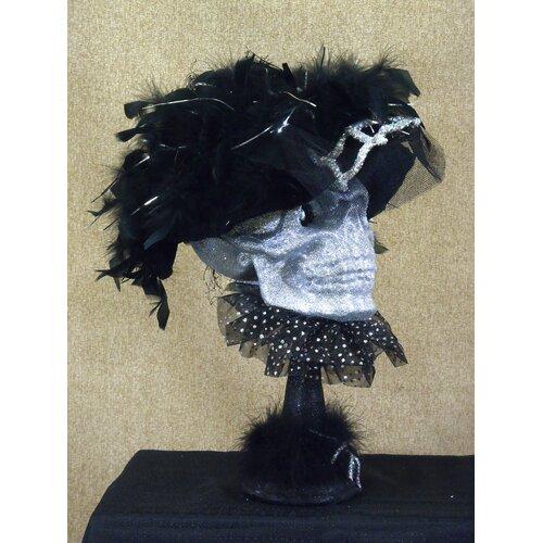 Karen Didion Originals Spooktacular Halloween Skeleton Bust Figurine
