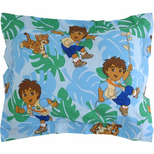 Nickelodeon Go Diego Go! Animal Rescue Pillow Sham