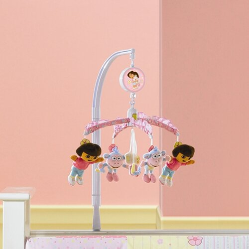 Interior Consumer Products Nickelodeon Dora the Explorer Crib Mobile