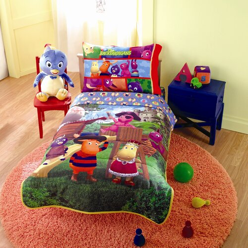 Nickelodeon Backyardigans 4 Piece Toddler Bedding Set