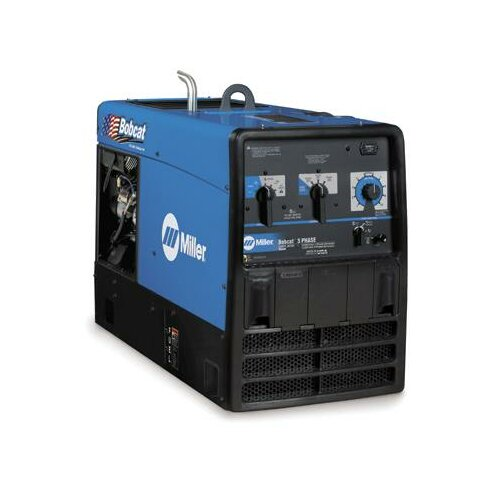 Miller Electric Mfg Co Bobcat 3 Phase 480V Generator Welder 225A with 25HP Kohler LP 4 Cycle OHV Engine
