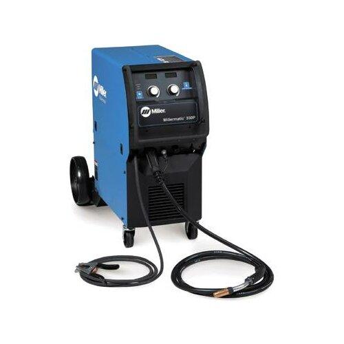 Miller Electric Mfg Co Millermatic 350P 200/230/460V MIG Welder with Built-In Pulse MIG Program