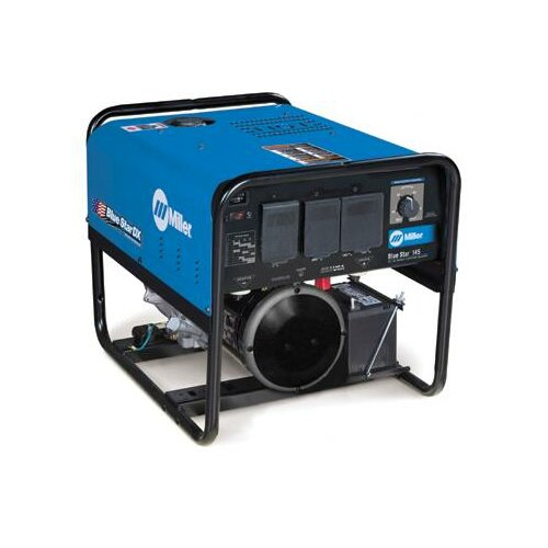 Miller Electric Mfg Co Star® 145 DX Generator Welder 145A with 10HP Kohler Electric Start Gas Engine and GFCI Receptacles