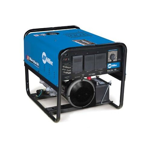Miller Electric Mfg Co Star® 185 DX Generator Welder 185A with 12.75HP Kohler Electric Start Engine and Standard Receptacles